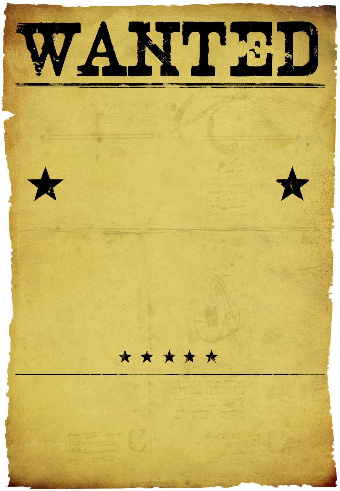 Free Printable Western------On Pourrait Créer Des Affiches Avec - Free Printable Wanted Poster Invitations