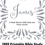 Free Printable Women's Bible Study Guide And Prayer Journal For – Printable Women's Bible Study Lessons Free