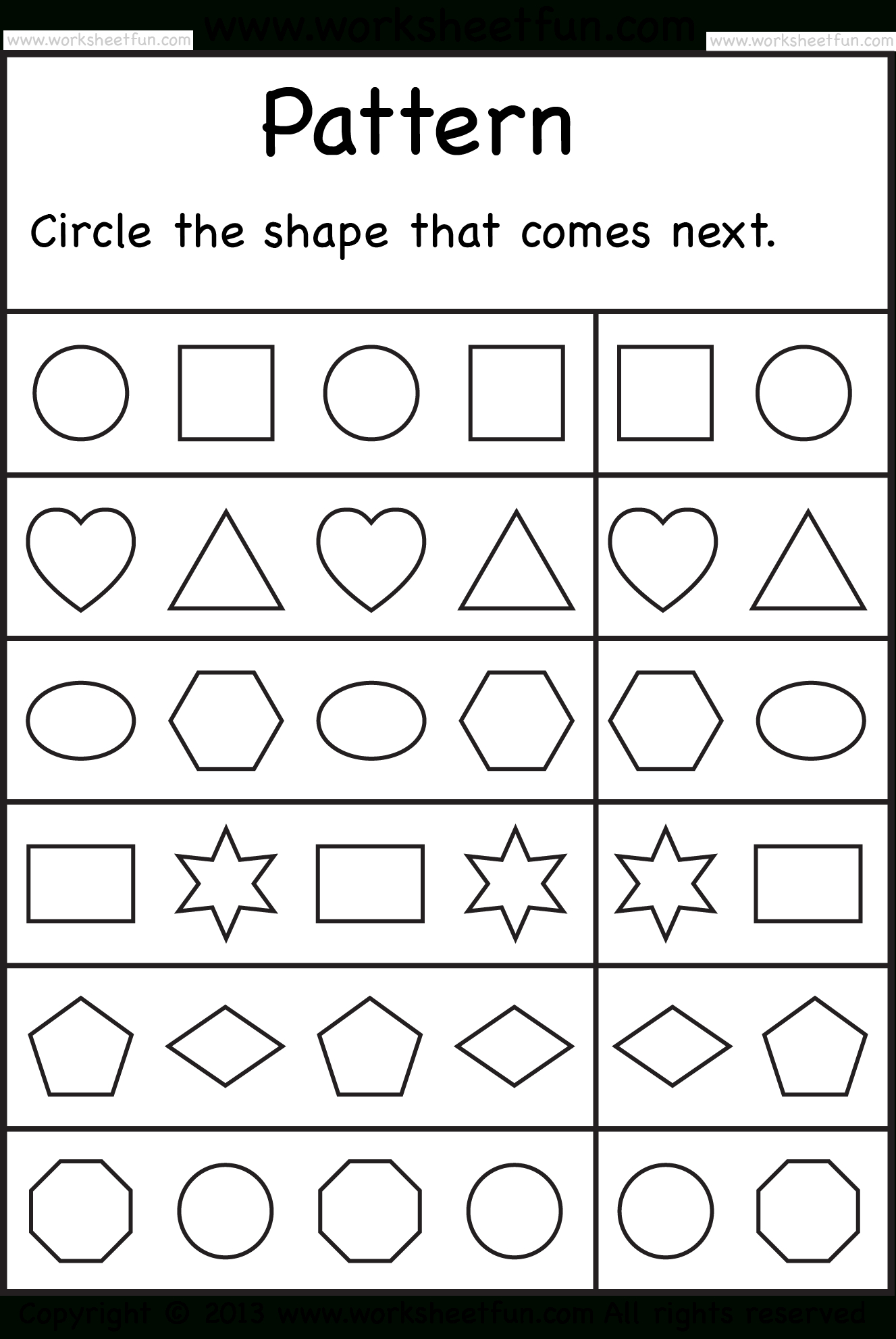 Free Printable Worksheets – Worksheetfun / Free Printable - Free Printable Sequencing Worksheets For Kindergarten