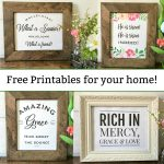 Free Printables Christian Wall Art   Spring And Easter Decor   Mamashire   Free Printable Christian Art