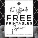 Free Printables • Design & Gallery Wall Resources • Little Gold Pixel – Free Printable Funny Posters