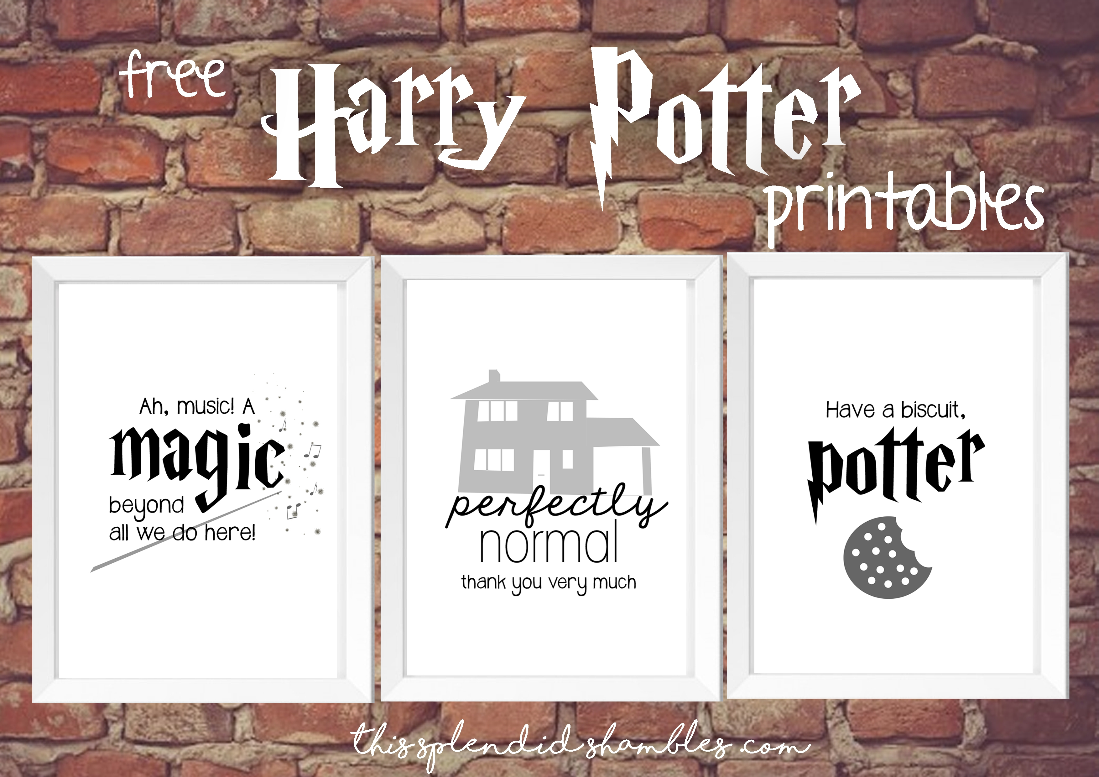 Free Printables Harry Potter | Bestprintable231118 - Free Printable Harry Potter Pictures