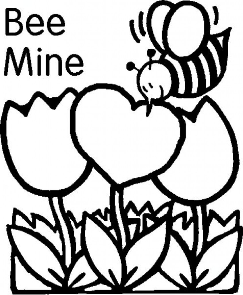 Free Printables: Valentines Day Coloring Pages, Valentine And More! - Free Printable Valentine Decorations