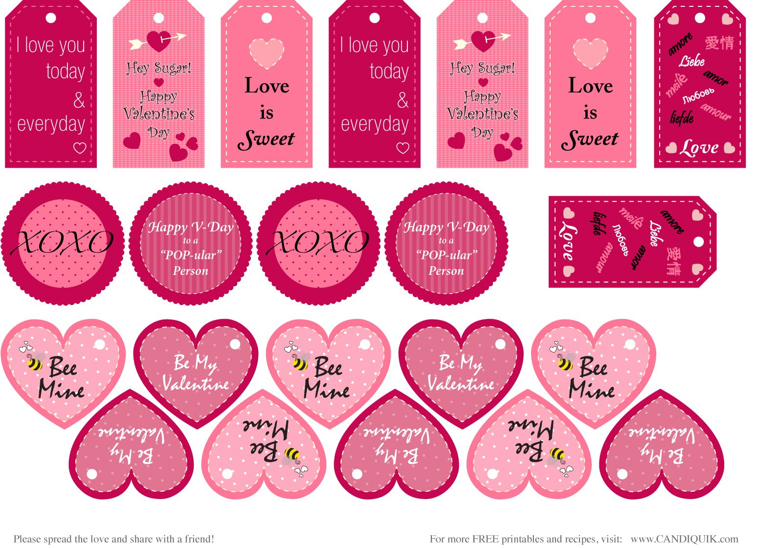 Free} Printables | Valentines | Pinterest | Valentine's Day - Free Printable Valentine Graphics