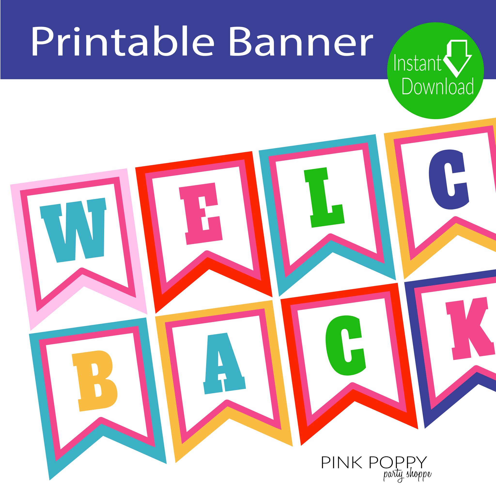 Free Printables} Welcome Back Banner | Children's Ministry - Free Printable Welcome Banner Template