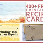 Free Recipe Cards   Cookbook People   Free Printable Photo Cards 4X6