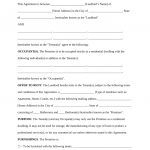 Free Rental Lease Agreement Templates   Residential & Commercial   Free Printable Lease Agreement Pa