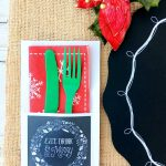 Free Rustic Christmas Party Printables   Must Have Mom   Free Printable Christmas Party Signs