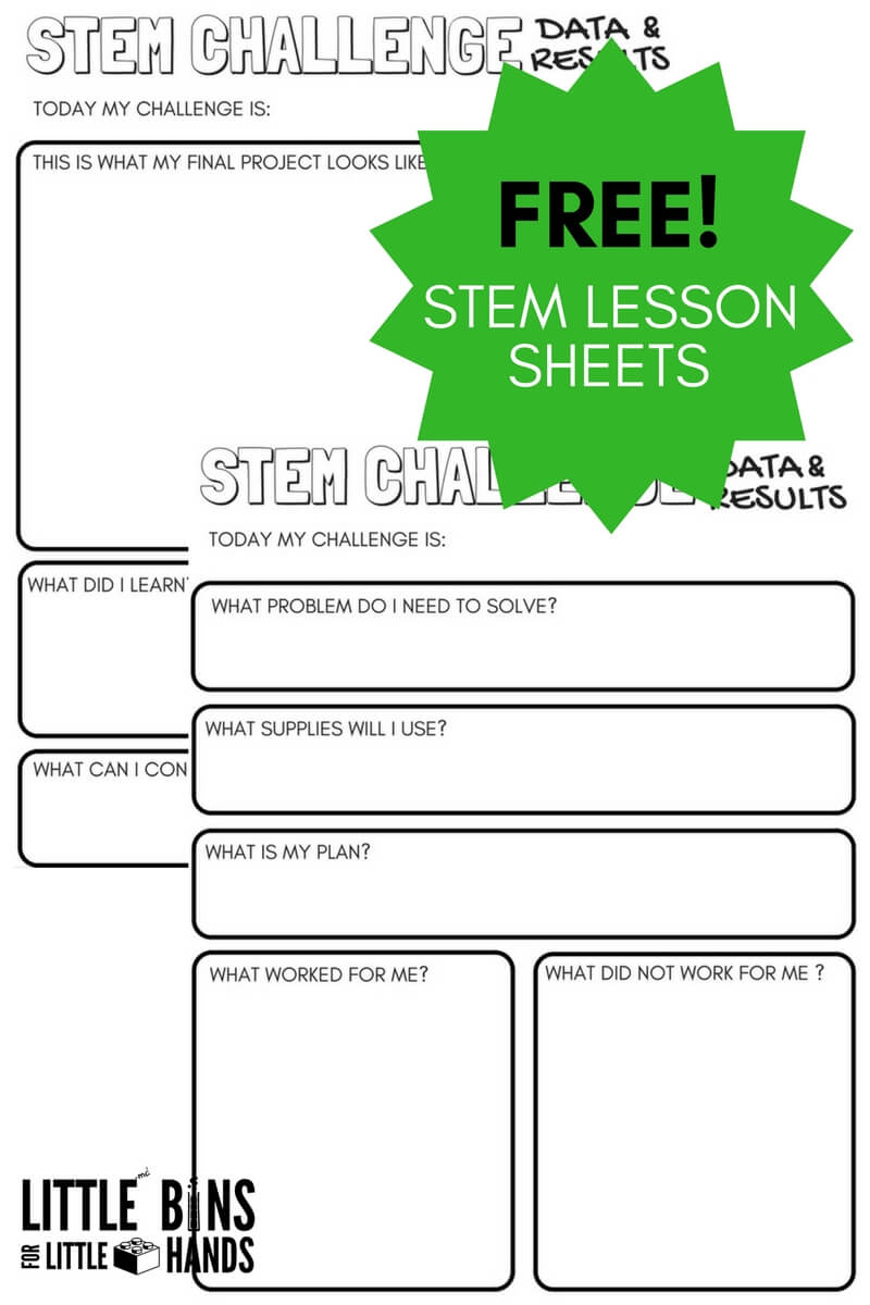 Free Science Worksheets And Printable Science Journal Pages - Free Printable Science Worksheets