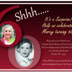 Free Surprise 60Th Birthday Party Invitation – Invitetown   Projects   Free Printable Surprise 60Th Birthday Invitations