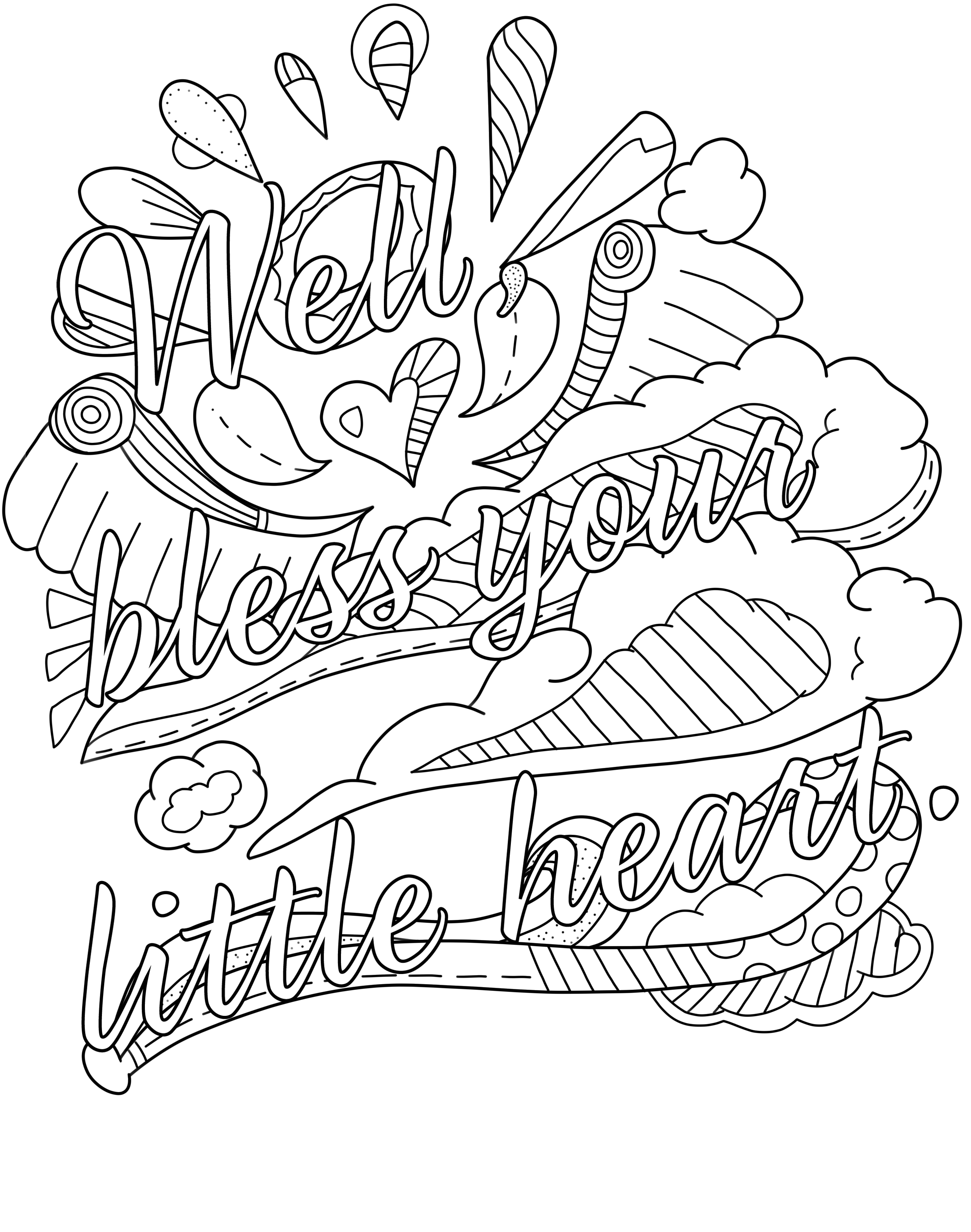 Free Swear Word Printable Page Archives - Thiago Ultra - Free Printable Swear Word Coloring Pages