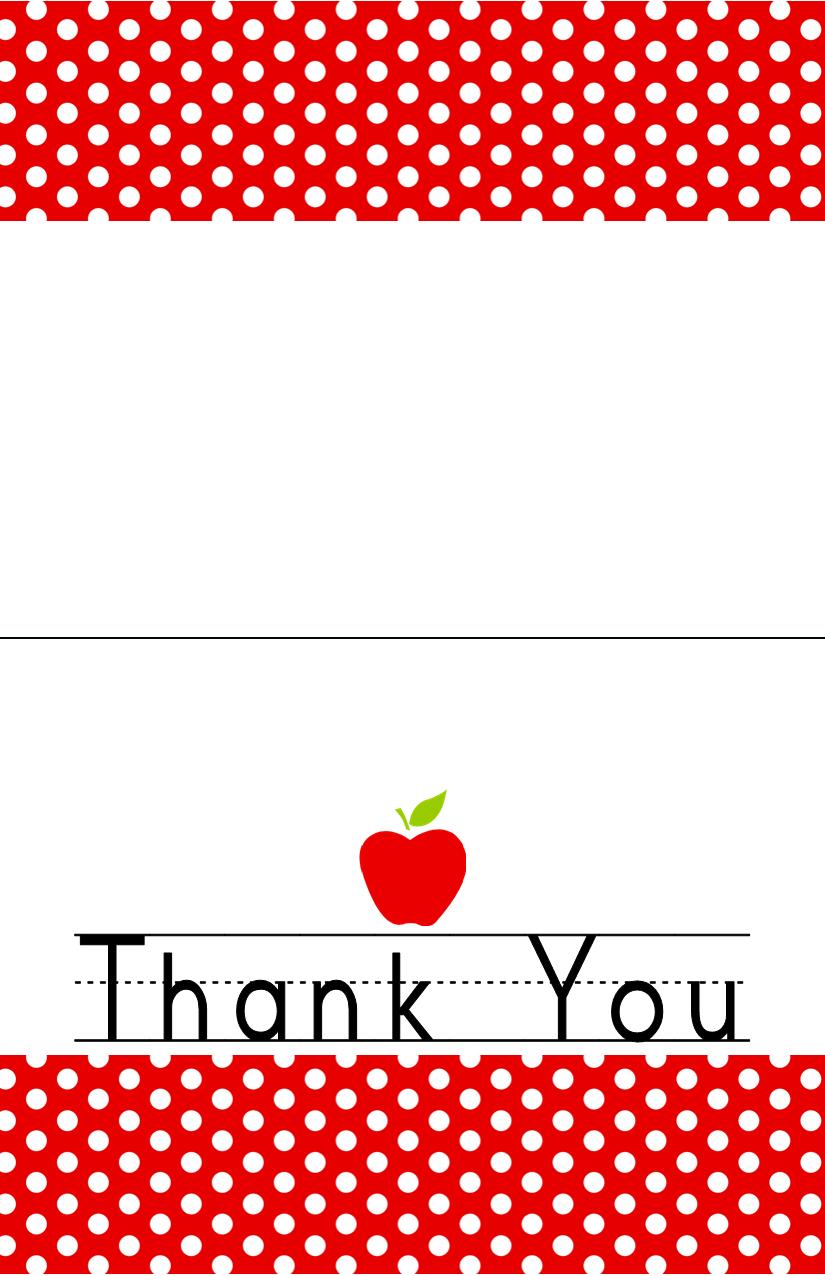Free Teacher Appreciation Printable   Jacob's Proyects   Teacher - Free Printable Thank You Cards For Teachers