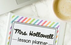 Free Teacher Planner – Playdough To Plato – Free Printable Teacher Planner Pages