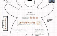 Free Teddy Bear Patterns Printable
