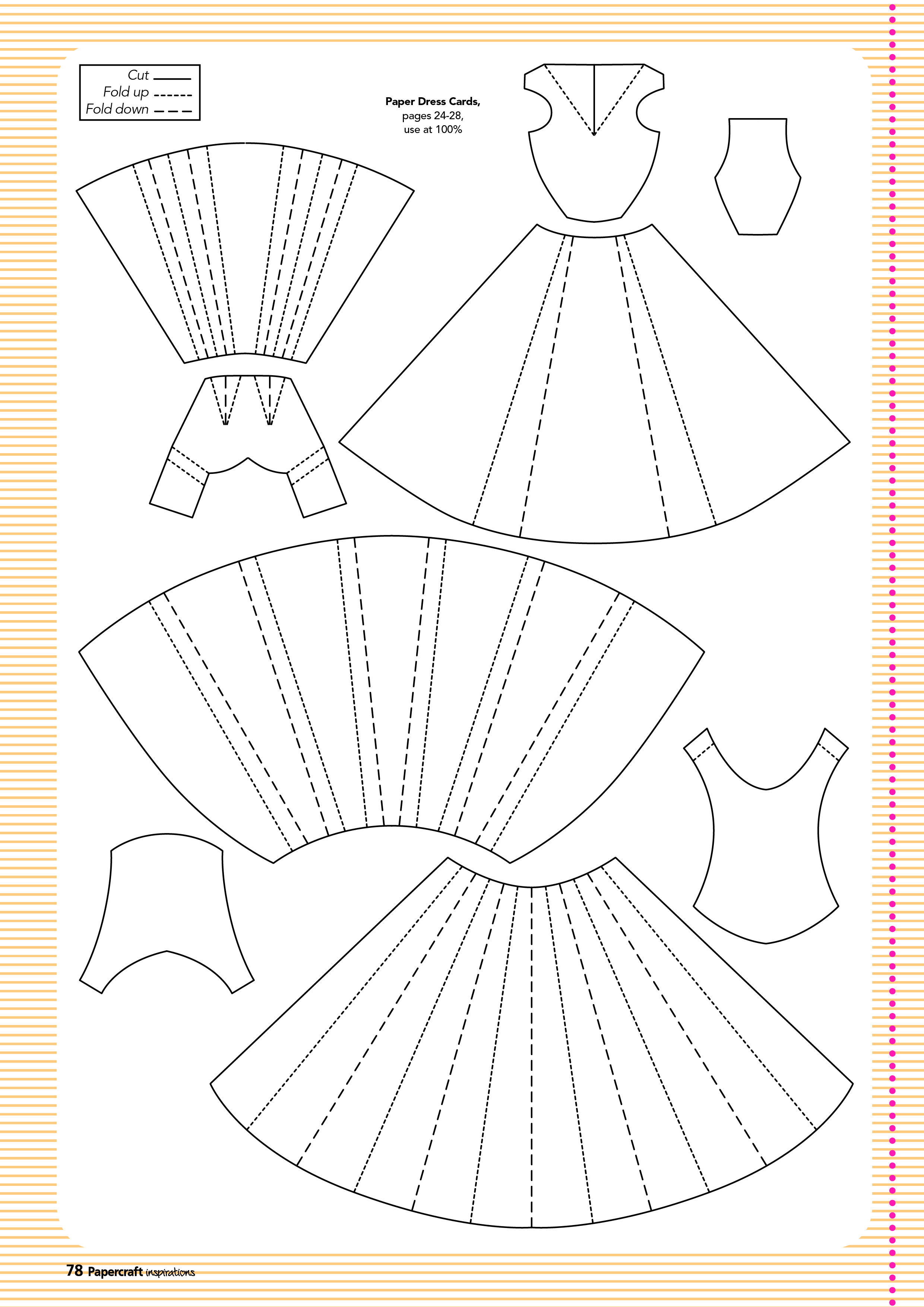 Free Templates From Papercraft Inspirations 129 | Cards-N-Tags - Free Card Making Templates Printable