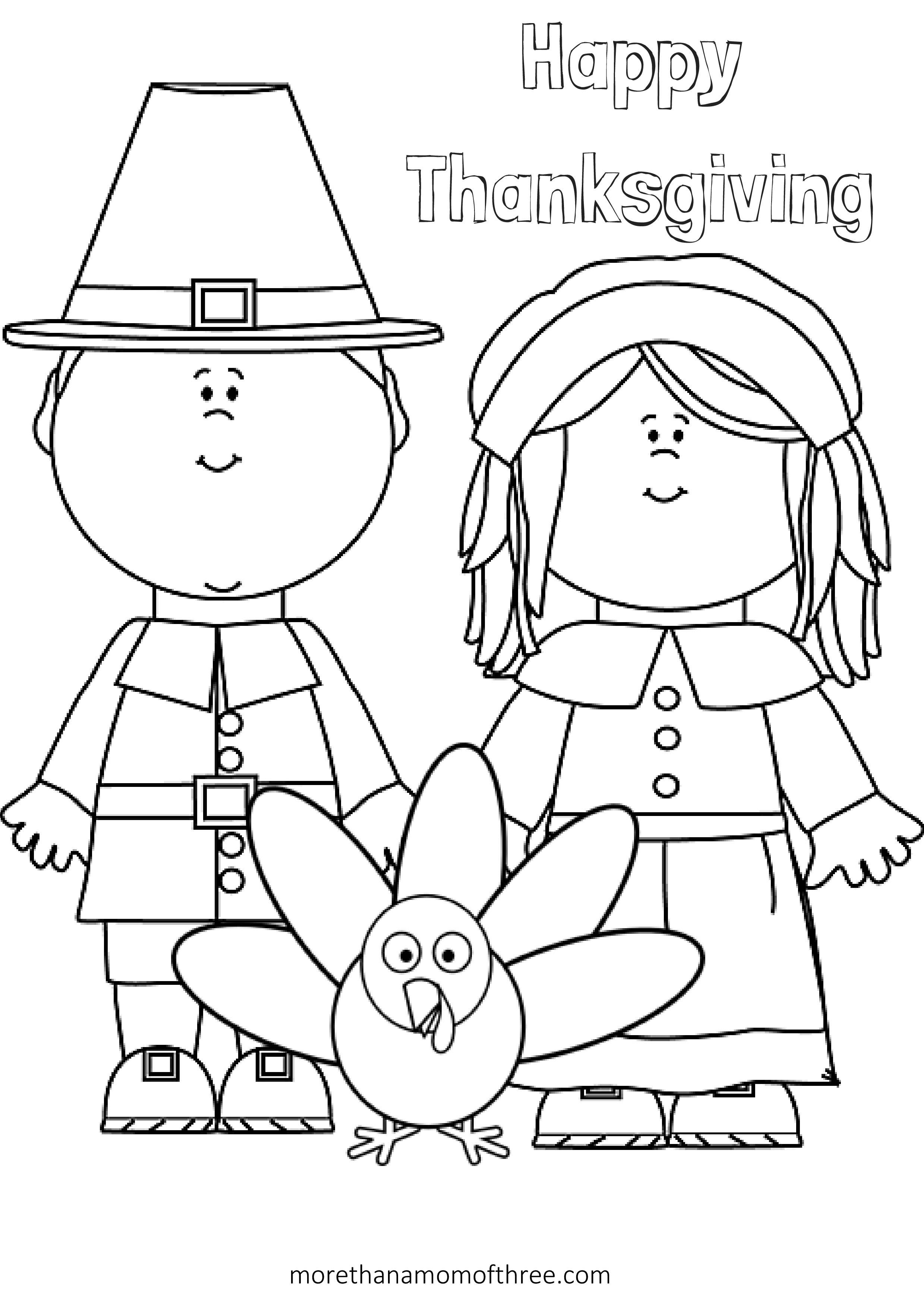 Free Thanksgiving Coloring Pages Printables For Kids   Thanksgiving - Free Printable Thanksgiving Coloring Pages