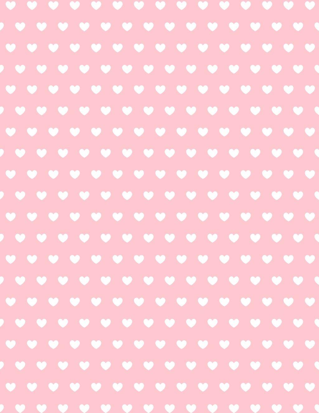 Free Valentine Hearts Scrapbook Paper | Perfect Student - Free Printable Scrapbook Paper Designs
