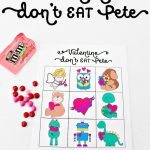 Free Valentine Printables Don't Eat Pete | Gift Ideas | Free – Don T Eat Pete Free Printable