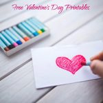 Free Valentine's Day Printables   Make Breaks   Free Printable Valentine's Day Stencils