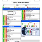 Free Vehicle Inspection Checklist Form | Good To Know | Vehicle   Free Printable Vehicle Inspection Form