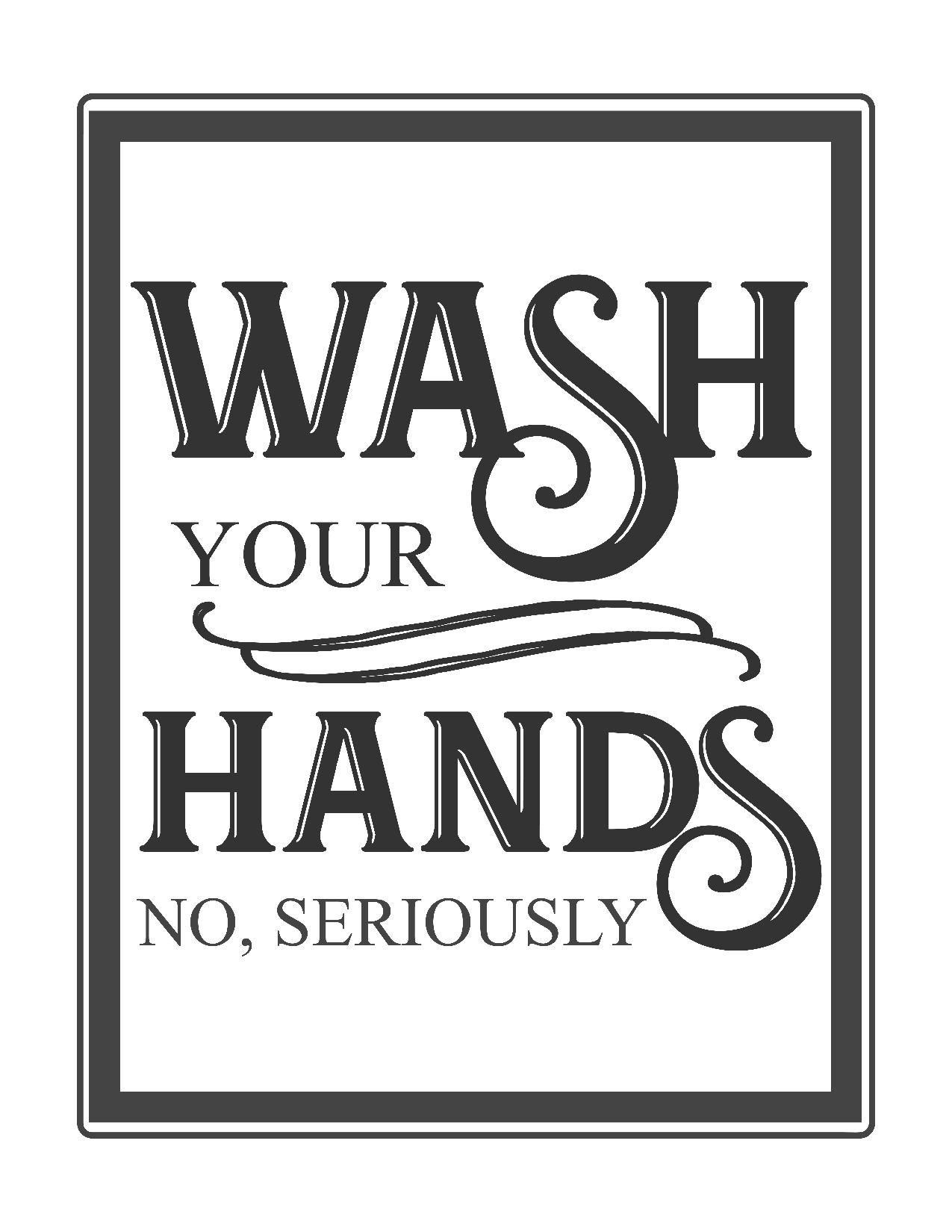 Free Vintage Bathroom Printables | Printables ** | Bathroom Quotes - Free Printable Bathroom Signs