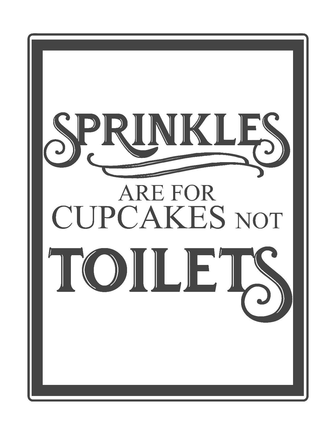 Free Vintage Bathroom Printables | Printables ** | Pinterest - Printable Video Surveillance Signs Free