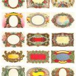 Free Vintage Labels Graphics Collage Sheet | Inspiring Ideas   Free Printable Vintage Labels
