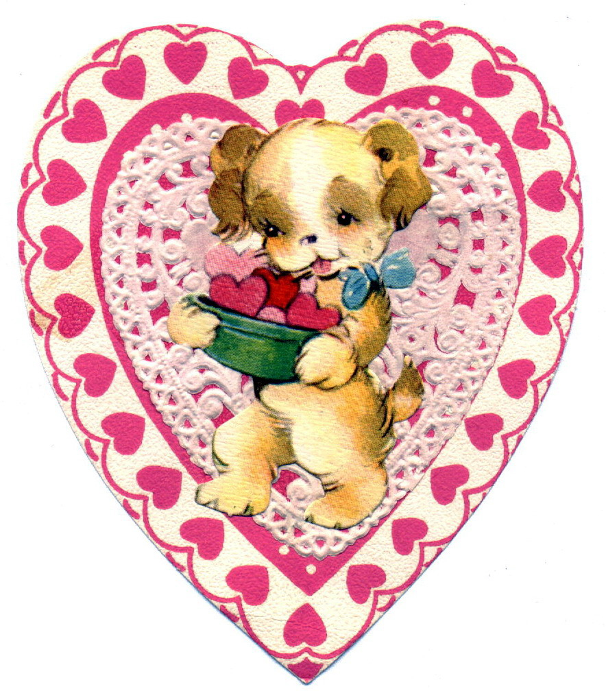 Free Vintage Valentine Pictures, Download Free Clip Art, Free Clip - Free Printable Vintage Valentine Pictures