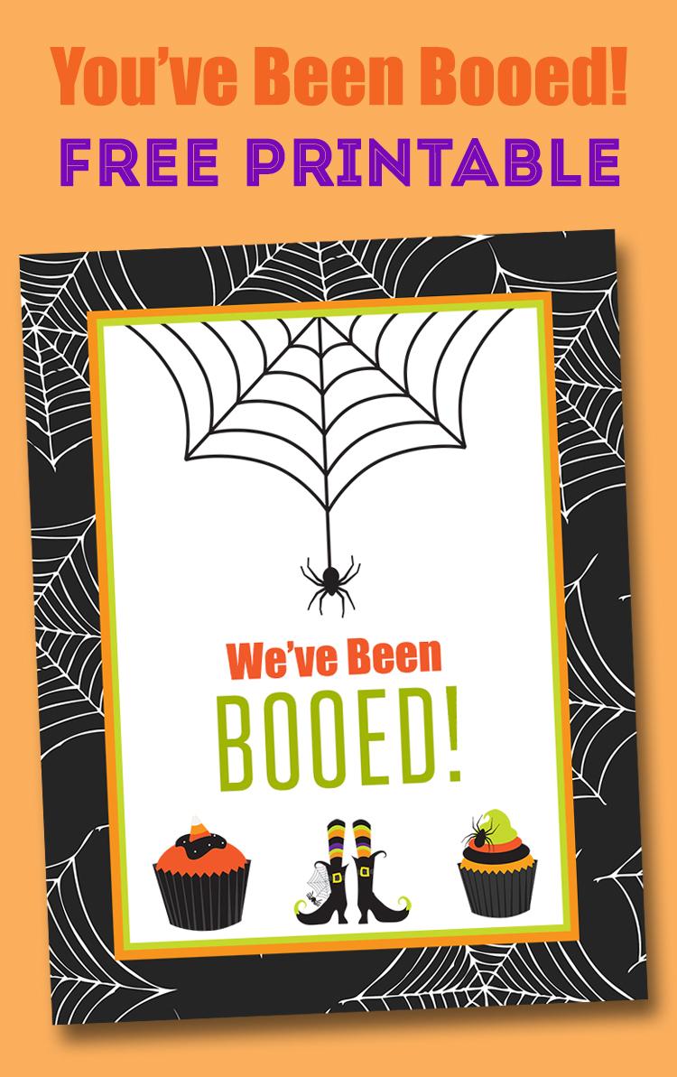Free You've Been Booed Printable - Neighborhood Boo Tradition | Lil - We Ve Been Booed Free Printable