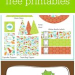 Freebie Friday: Free Dinosaur Party Printables | Baby Ninjas Bday   Free Printable Dinosaur Labels