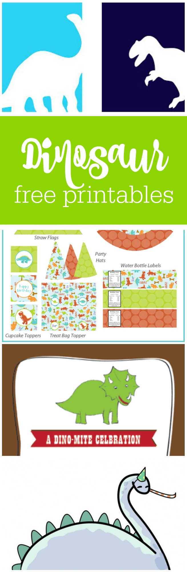 Freebie Friday: Free Dinosaur Party Printables | The Party Teacher - Free Printable Dinosaur Birthday Invitations