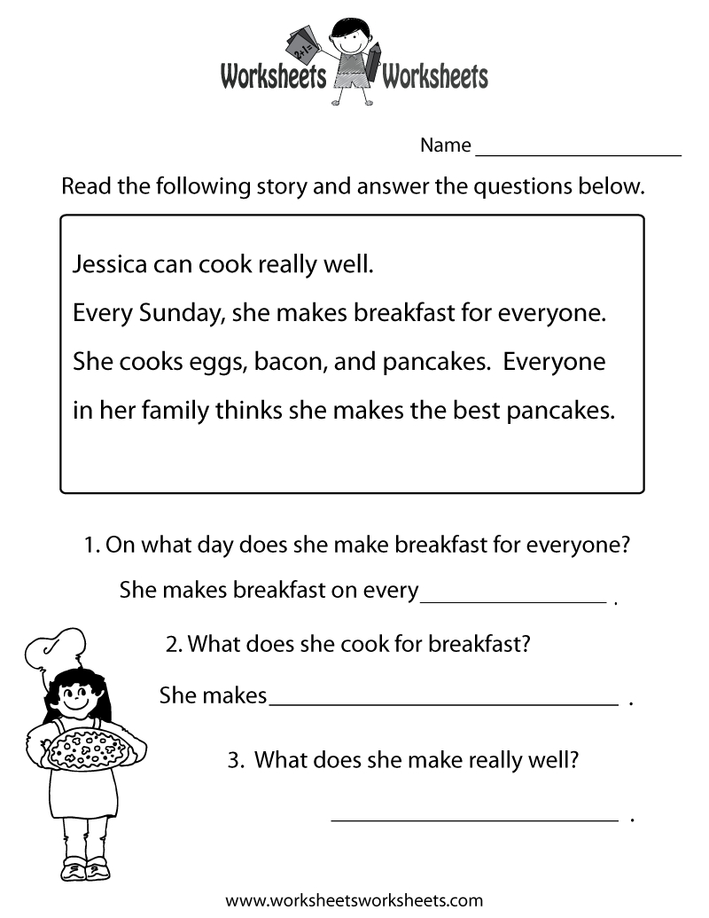 Freeeducation/worksheets For Second Grade |  Comprehension - Free Printable Groundhog Day Reading Comprehension Worksheets