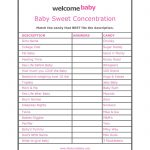 Free+Printable+Baby+Shower+Games+With+Answers | Baby Acord Shower – Free Printable Baby Shower Games With Answers