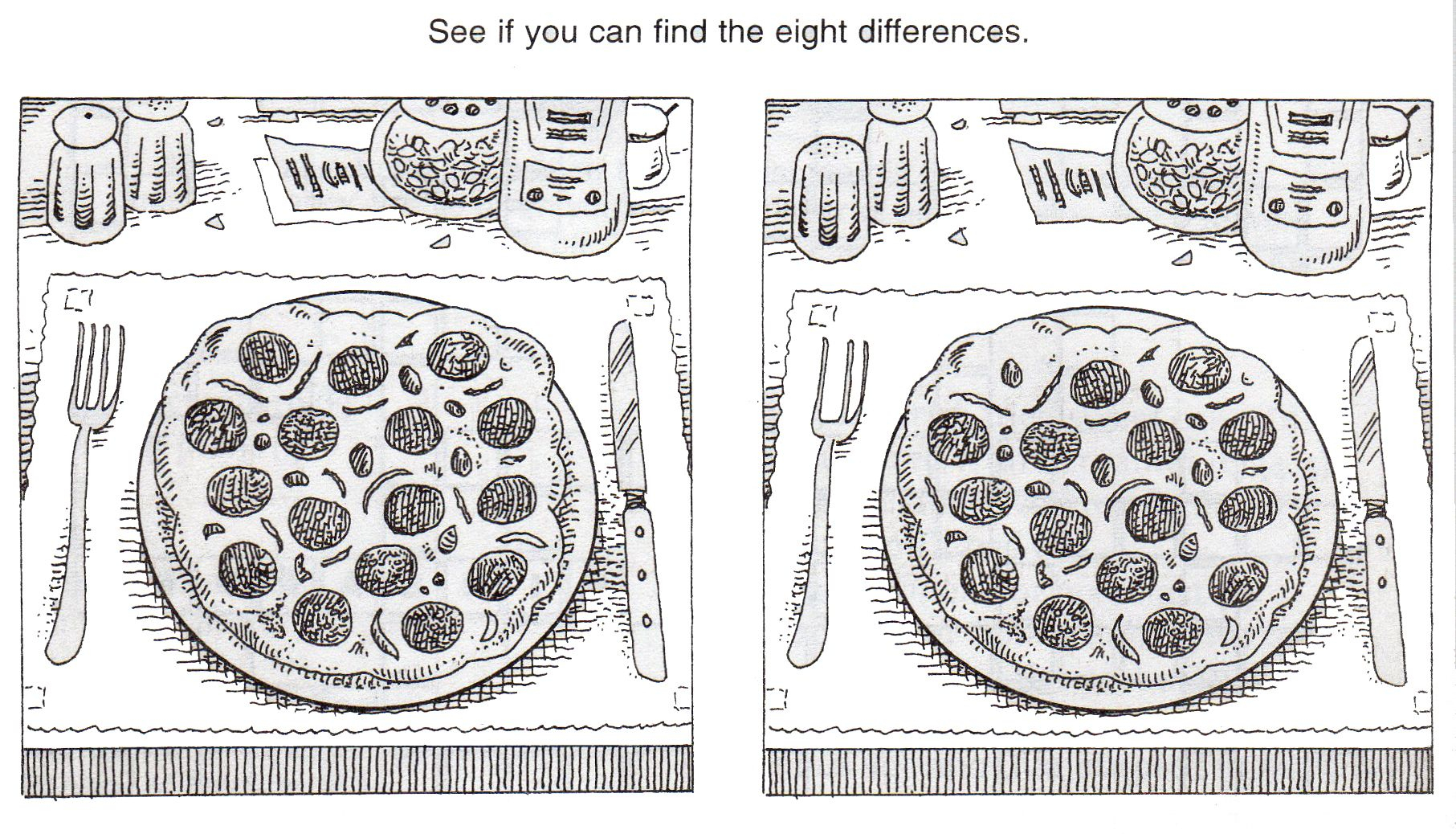 Free+Printable+Spot+The+Difference+Puzzles   Hg   Pinterest   Spot - Free Printable Spot The Difference Worksheets