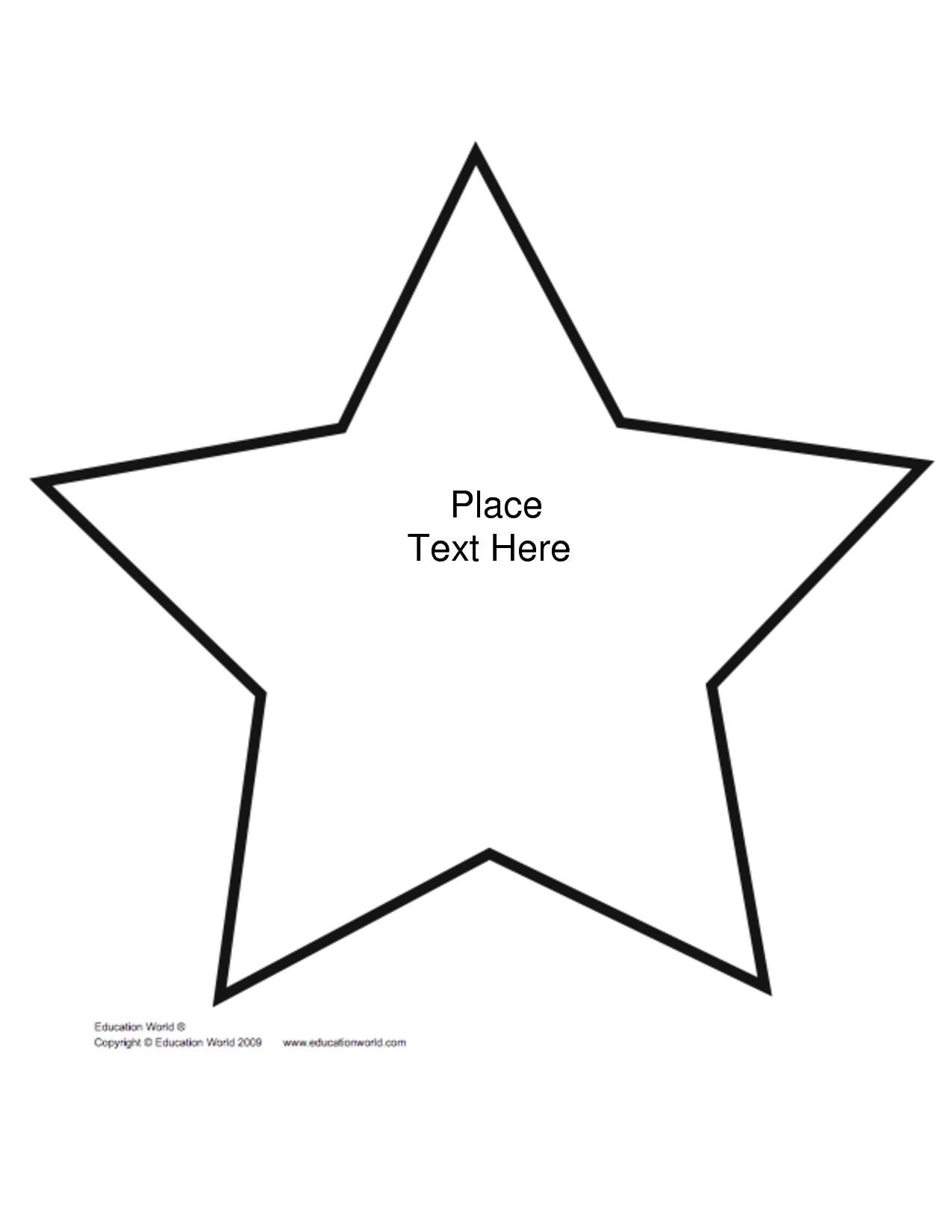 Free+Printable+Star+Shape+Templates | Biblical Preschool Lessons - Free Printable Stars