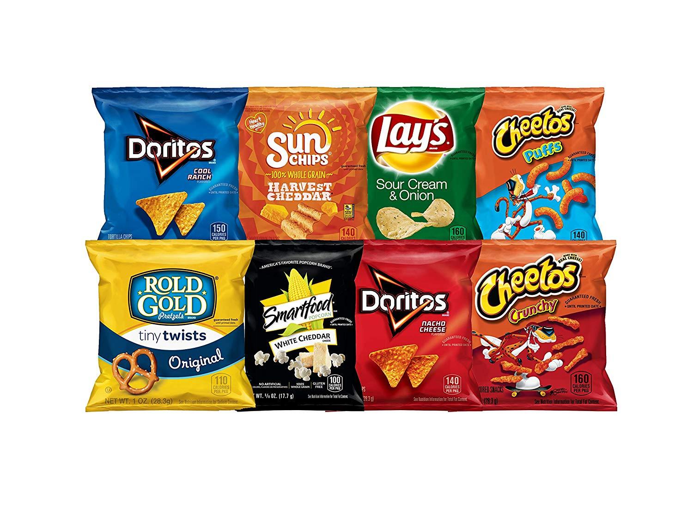 Frito-Lay Fun Times Mix Variety Pack Snacks, 40 Count (Coupon Deal) - Free Printable Frito Lay Coupons