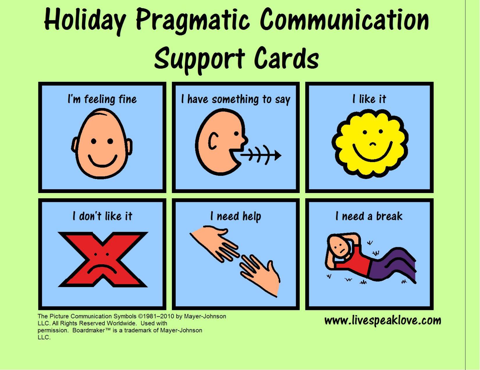Functional Communication – Live Speak Love, Llc - Free Printable Picture Communication Symbols