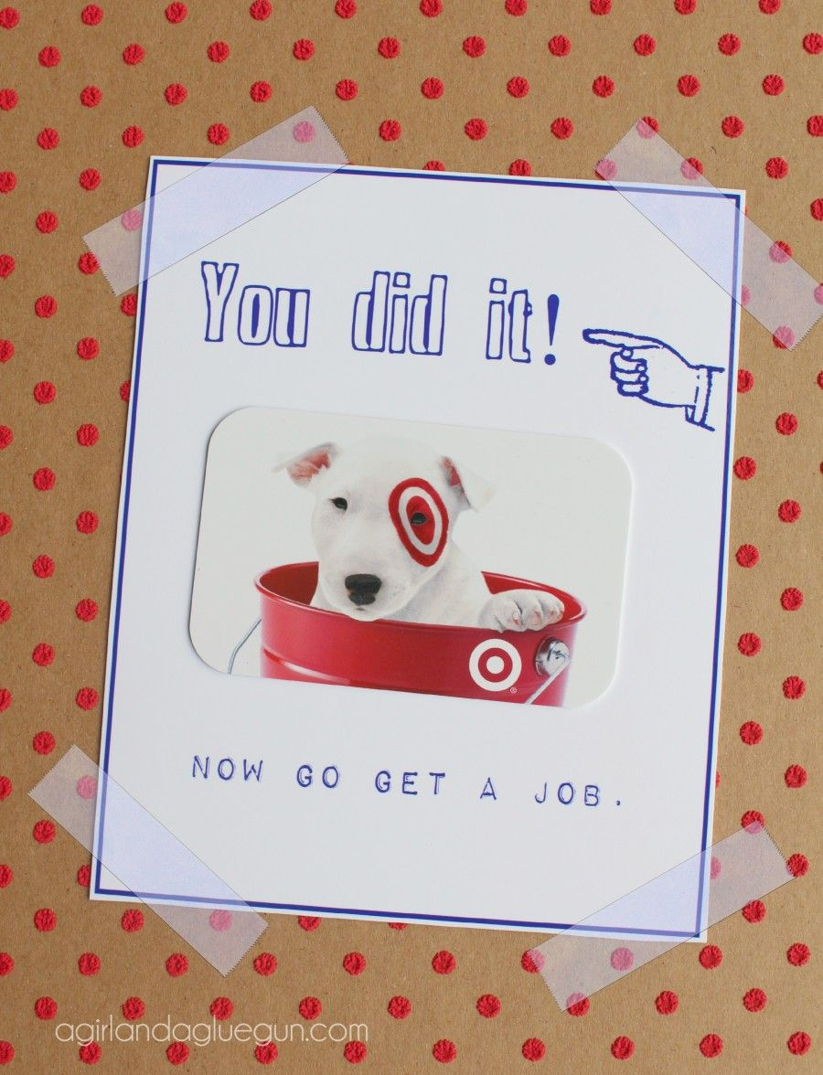 Funny Graduation Card Ideas With Free Printables | Printables - Graduation Cards Free Printable Funny