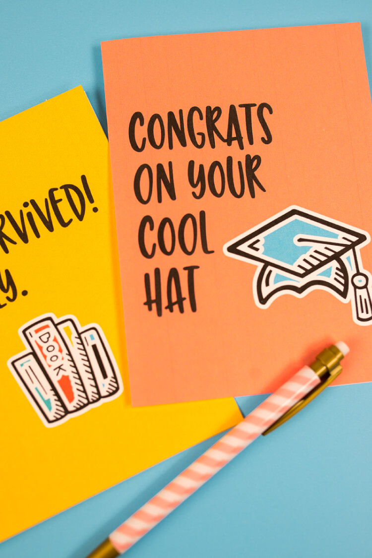 Funny Graduation Cards - Eight Free Printable Cards! - Graduation Cards Free Printable Funny