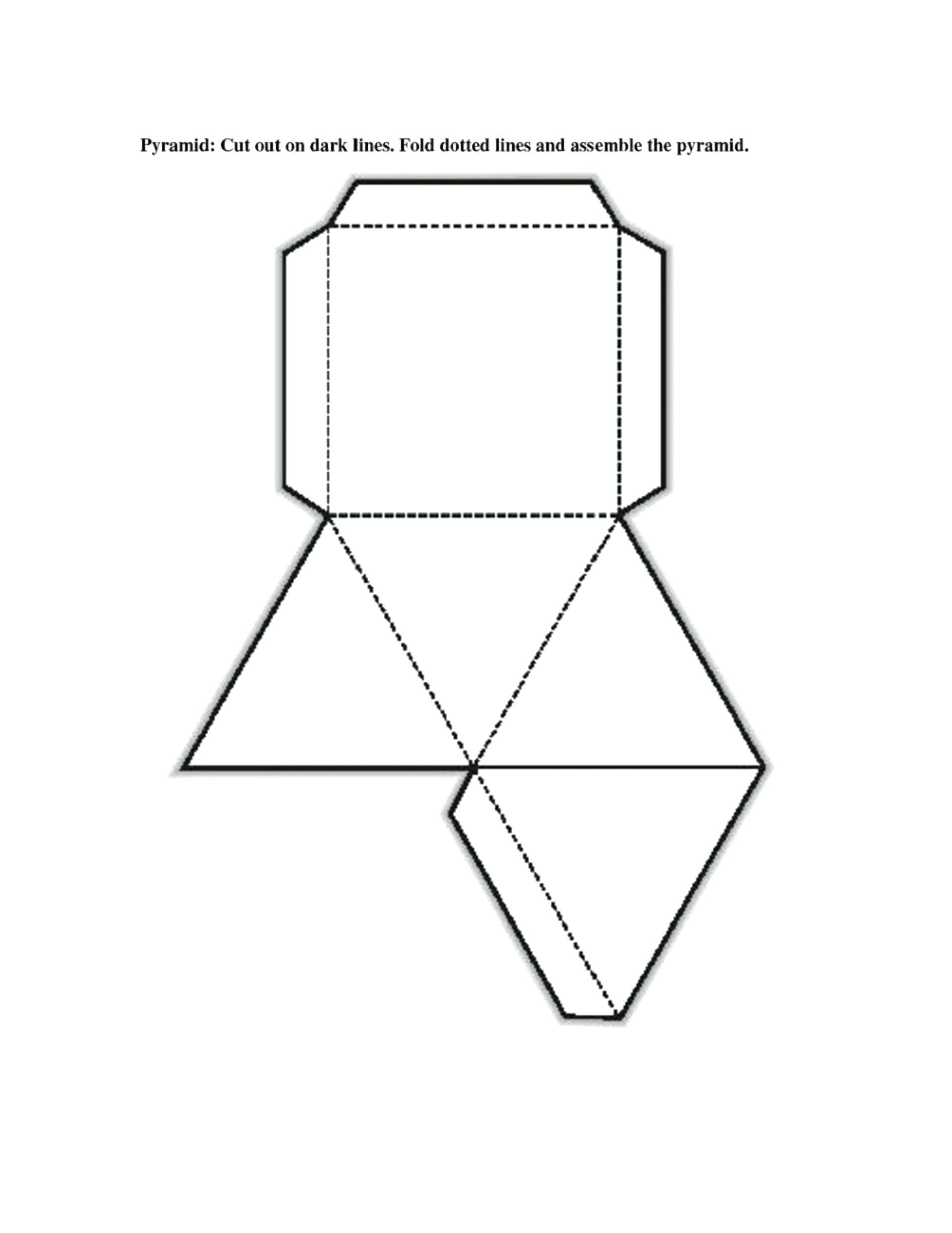 Geometric Net Printables Free Printable Shape Nets Template Intended - Free Printable Shapes Templates