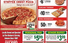 Free Printable Round Table Pizza Coupons