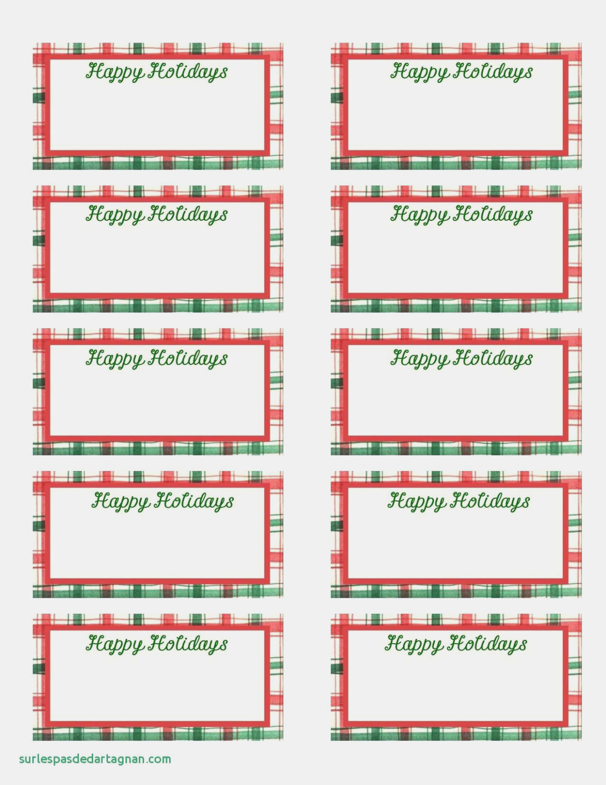 Gift Tag Label Template Luxury Of Name Free Printable Templates - Free Printable Blank Gift Tags