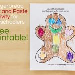 Gingerbread Man Cut And Paste Preschool Activity   Moms Have   Free Printable Version Of The Gingerbread Man Story