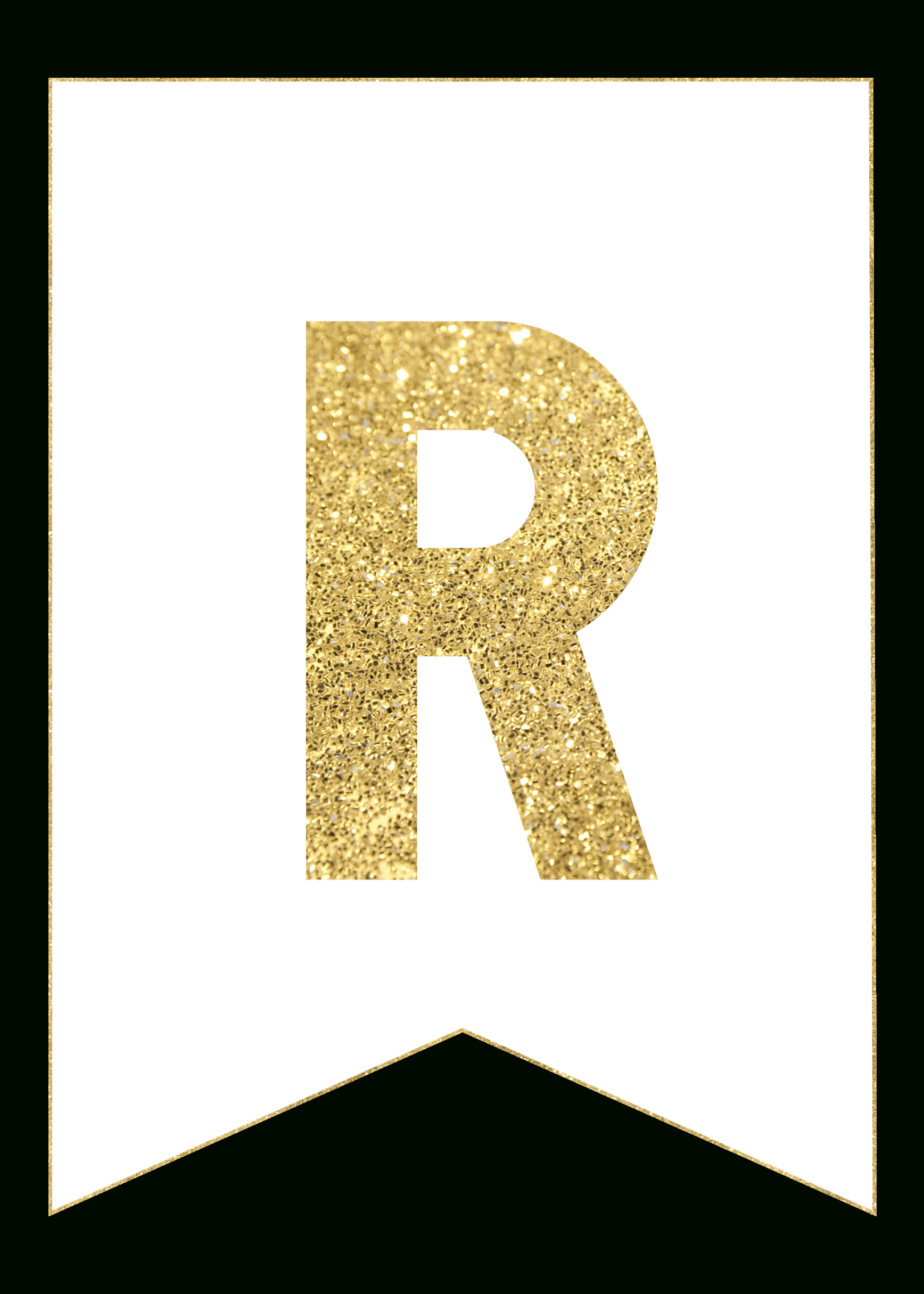 Gold Free Printable Banner Letters | Rolas Party | Free Printable - Free Printable Wedding Banner Letters