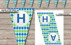 Birthday Banner Templates Free Printable