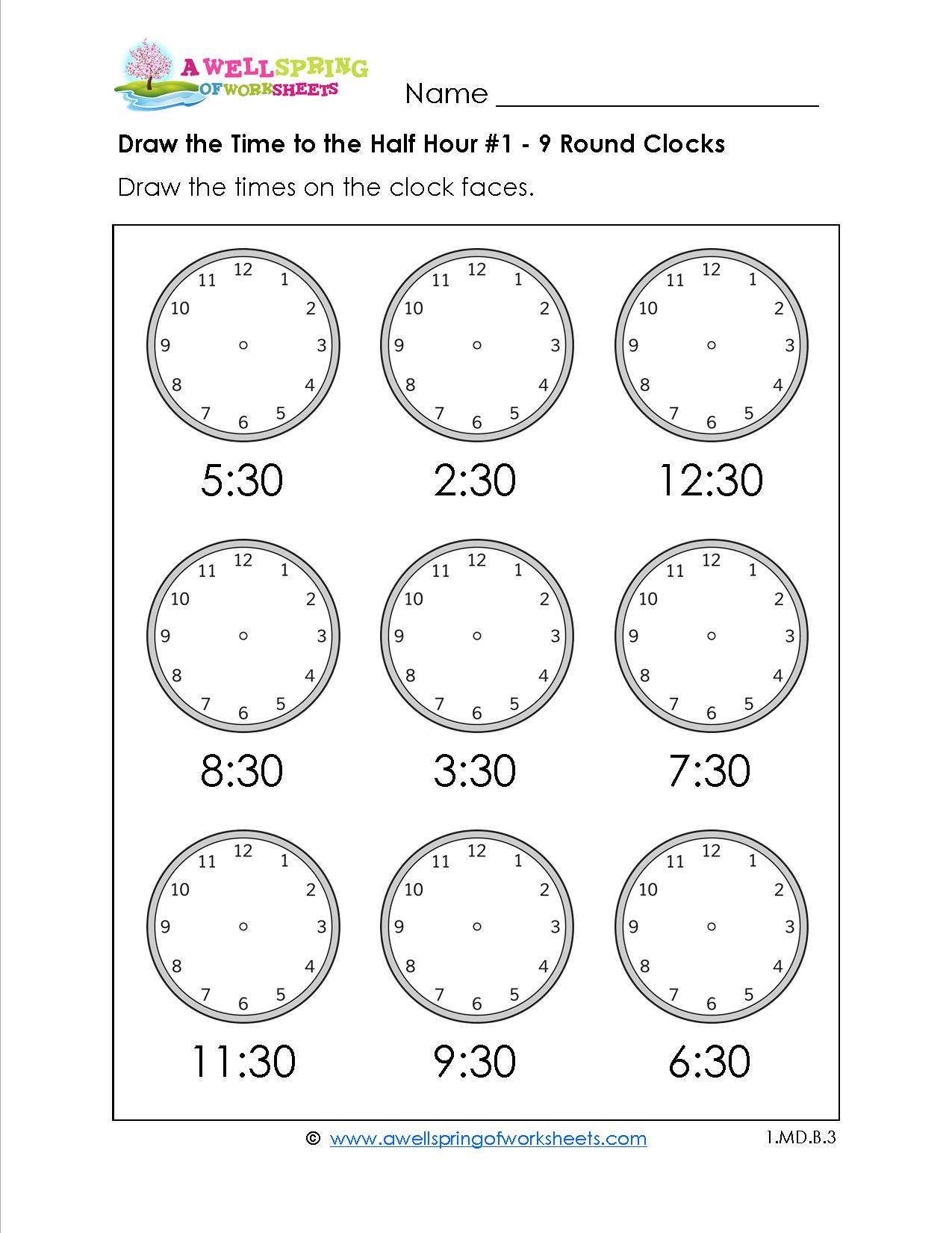 Grade Level Worksheets | Maths | Pinterest | Matemáticas Divertida - Free Printable Telling Time Worksheets For 1St Grade