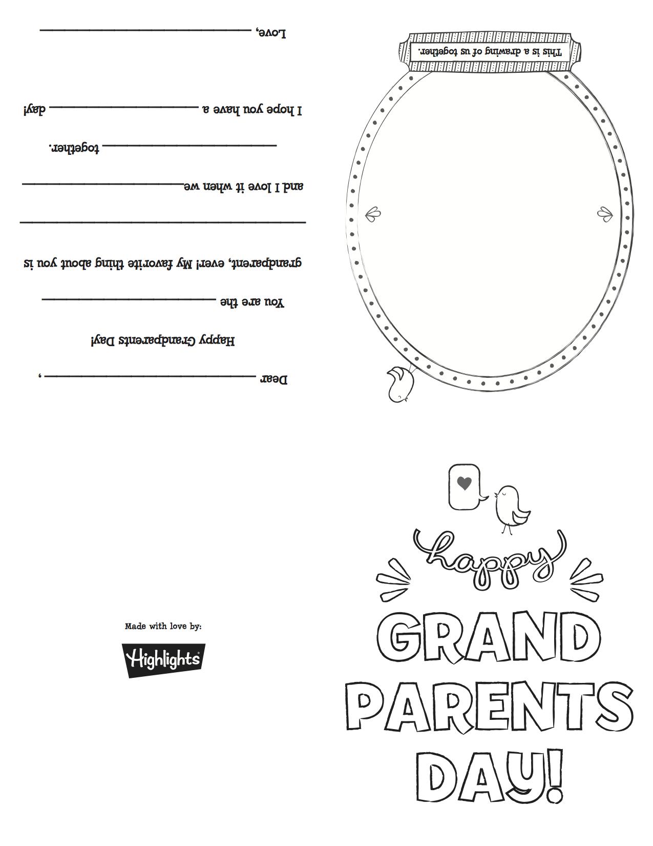Grandparentsdaycard_Copy   Grandparents Day   Pinterest - Grandparents Day Cards Printable Free