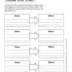 Graphic Organizers Printable | Printable Cause Effect Graphic   Free Printable Graphic Organizers