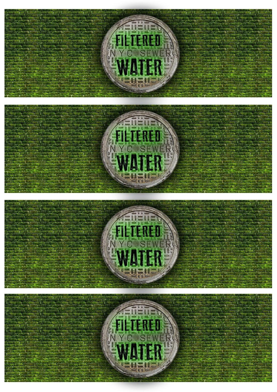Great Fun Etc: Ninja Turtle/tmnt Party Free Printables - Free Printable Tmnt Food Labels