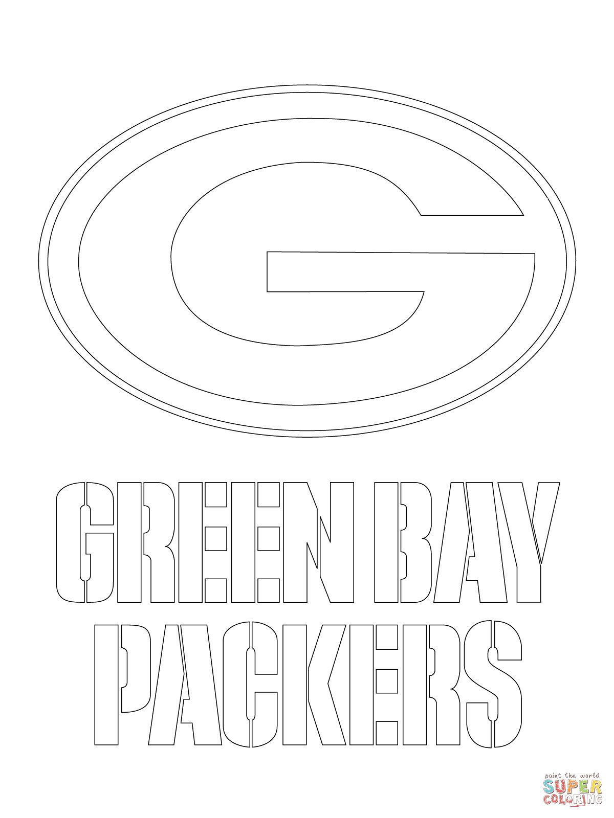 Green Bay Packers Templates   You Might Also Be Interested In - Free Printable Green Bay Packers Logo